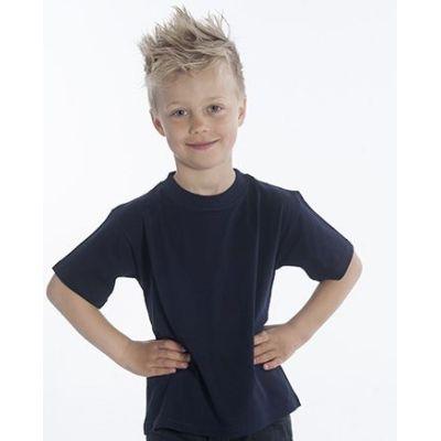 SNAP T-Shirt Basic-Line Kids, Gr. 128, Farbe schwarz | 060119-300-06 / EAN:0651650570032