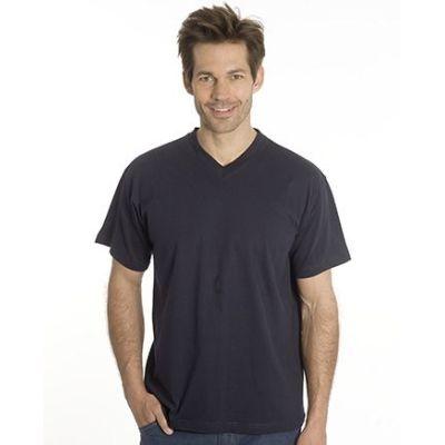 SNAP T-Shirt Flash Line V-Neck Unisex, schwarz, Gr. 4XL | 100103-700-06 / EAN:0651650570056