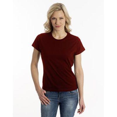 SNAP T-Shirt Flash-Line Women, Farbe dunkel rot, Größe 2XL | 100102-400-68 / EAN:0651650570001