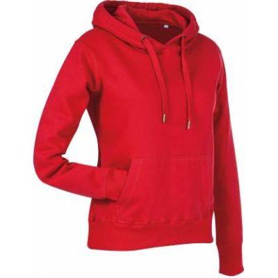 Stedman Active Sweat Hoody Damen purpurrot, Grösse M | st57000601-200-624 / EAN:0651650570117