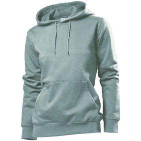 Stedman Hooded Sweatshirt Women, heidekraut grau, Grösse L | st41100101-300-28 / EAN:0651650570100