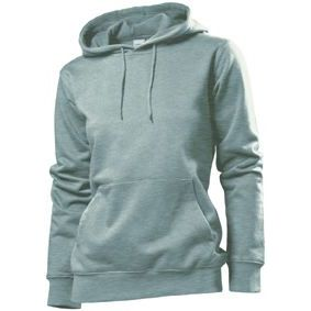 Stedman Hooded Sweatshirt Women, heidekraut grau, Grösse XL | st41100101-400-28 / EAN:0651650570100