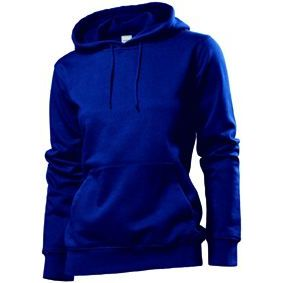 Stedman Hooded Sweatshirt Women, navy, Grösse L | st41100101-300-05 / EAN:0651650570100