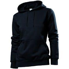 Stedman Hooded Sweatshirt Women, schwarz, Grösse L | st41100101-300-06 / EAN:0651650570100