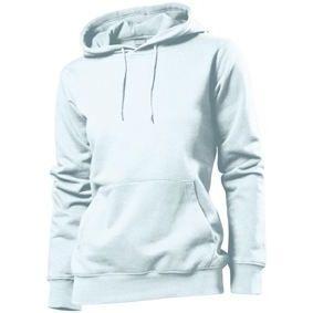 Stedman Hooded Sweatshirt Women, weiss, Grösse L | st41100101-300-01 / EAN:0651650570100