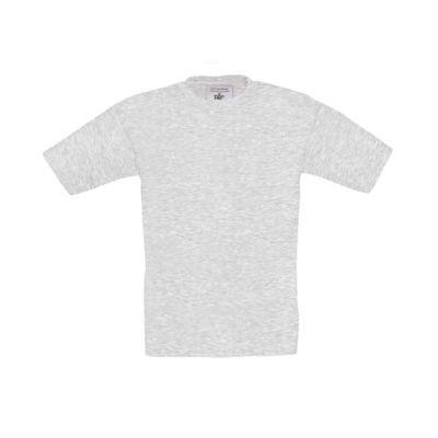 T-Shirt B&C Exact 190 Kids, Asche, Gr. 128 | 11901219-300-12 / EAN:0651650571961