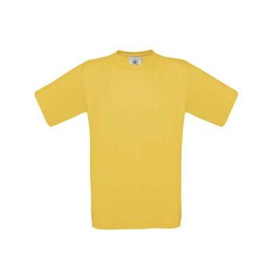 T-Shirt B&C Exact 190 Kids, Gold, Gr. 128 | 11902019-300-20 / EAN:0651650571961