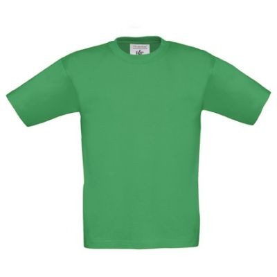 T-Shirt B&C Exact 190 Kids, Kelly Green, Gr. 128 | 11902419-300-24 / EAN:0651650571961