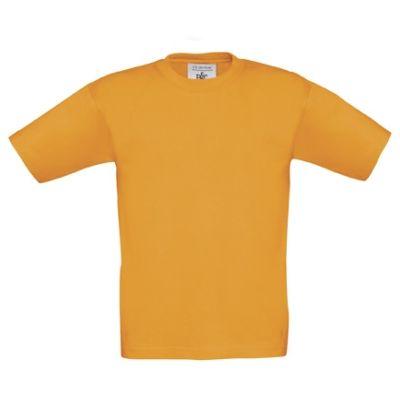 T-Shirt B&C Exact 190 Kids, Orange, Gr. 104 | 11901819-100-18 / EAN:0651650571961