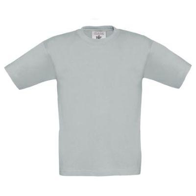 T-Shirt B&C Exact 190 Kids, Pacific Grey, Gr. 116   119051819-200-518 / EAN:0651650571961