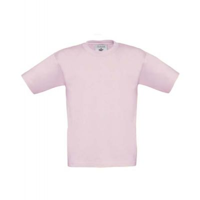 T-Shirt B&C Exact 190 Kids, Pink Sixties, Gr. 116 | 11908019-200-80 / EAN:0651650571961