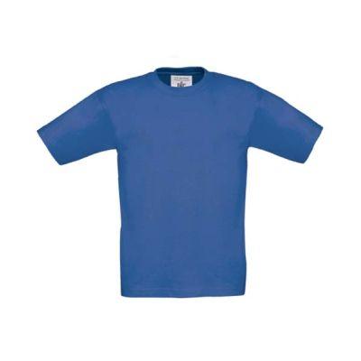 T-Shirt B&C Exact 190 Kids, Royalblue, Gr. 116 | 11900719-200-07 / EAN:0651650571961
