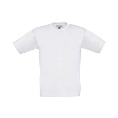 T-Shirt B&C Exact 190 Kids, Weiß, Gr. 104   11900119-100-01 / EAN:0651650571961