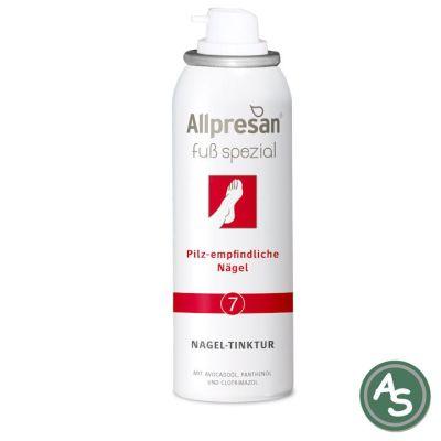 Allpresan Nageltinktur Pilzempfindliche Nägel (Nr 7) - 125 ml | 5046 / EAN:4038235111662
