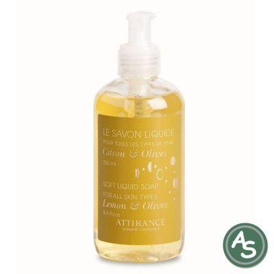 Attirance Flüssigseife Lemon-Olive - 250 ml | 5876 / EAN:4751006431317