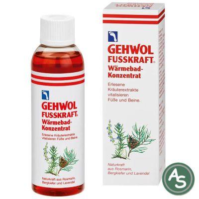 Gehwol Fußkraft Wärmebad Konzentrat - 150 ml | 5079 / EAN:4013474101094