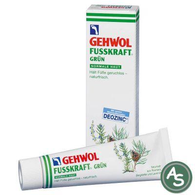 Gehwol Fußkraft Grün - 75 ml | 5066 / EAN:4013474101018