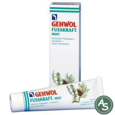 Gehwol Fußkraft Mint - 125 ml | 5073 / EAN:4013474101179