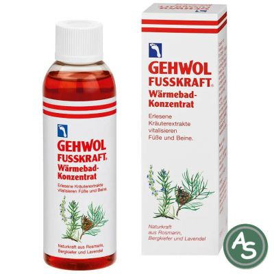 Gehwol Fußkraft Wärmebad Konzentrat - 150 ml   5079 / EAN:4013474101094